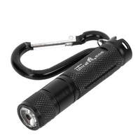 UltraFire E05 Cree XP-G R5 150 Lumen1-Mode LED Light Lamp Flashlight Torch Blue/black with iron box