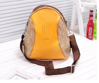 2014  New fashion female version of the backpack canvas school bag trend backpacks preppy style lovers travel bag BP0336