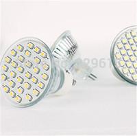 10pcs E27/ GU10/ MR16 220V 2W 150-200 Lumens 30 SMD 3528 LED Warm White/ Cold White Led Spotlight  Bulb For Home Free Shipping