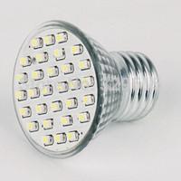 1pcs E27/ GU10/ MR16 30 SMD 3528 LED Warm White/ Cold White Spotlight Down Light Bulb 2W Energy Saving Lamp 220V Free Shipping