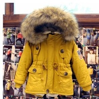 new 2014 winter children  outerwear / jacket , winter jacket for boys,Warm winter coat Children free shipping for2-8y