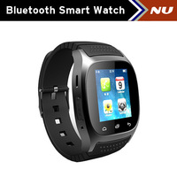 2014 new smart watch M26 Bluetooth watch Samsung smart mobile phone synchronization music watch SMS wristwatch Waterproof
