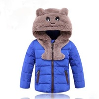 New 2014 Children's  Down Jackets For Boy And Girl Cartoon Children Outerwear For Winter