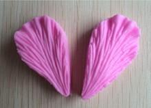Free Shipping Leaf Shaped Silicone Press Mold Cake Decoration Fondant Cake 3D Food Grade Silicone Mould  C344(China (Mainland))