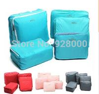 Perspectivity travel storage bag sorting bags piece set korean style