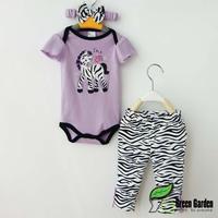 Baby girl's climbing suit one piece fashion bodysuits Romper pant 2pcs 1 set skull design,Freeshipping