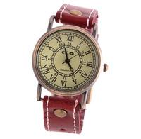 Women Dress Watches Women rhinestone Watches Roman numeral dial Vintage Leather Fashion Quartz men Sports WristWatches JW1738