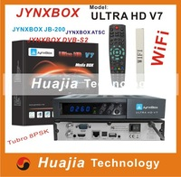 JynxBox Ultra HD V7 with Jb200 module build in wifi DVB-S2 with Dual Tuner( S2/T),YouTube,USB PVR,HDMI