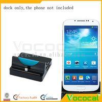 Multifunctional Card Reader Micro USB Hub Dock for Samsung Mobile Phone Galaxy S5 S4 Black Base, Free Shipping, Dropshipping