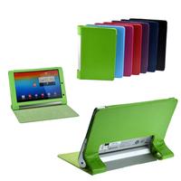 For Lenovo Yoga Tablet B8000 10.1'' Folio Smart Cover PU Leather Case Holder Good quality