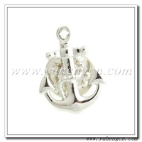 Free Shipping ! YHLP-822B Fashion Novelty Anchor Lapel Pins, Badges- Mix Styles Acceptable