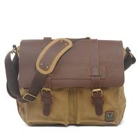 4 colors genuine leather bags men's messenger bag casual shoulder bags fashion MC012138k