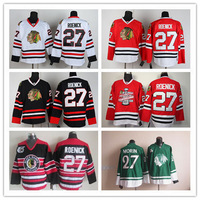Promotional Chicago Blackhawks Ice Hockey Jerseys #27 Roenick 75th anniversary Jersey 2013 Stanley Cup champion