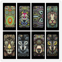 """Luxury 3D Cartoon Animal Owl PC Case For Iphone6 6G Tiger Hard Cases For Iphone 6 4.7"""" inch Free Ship 10pcs/lot"""