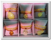 Luxury Pure 100% Natural Beeswax Secret Wax Semi-precious Stone Jewelry Necklace