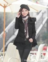 Free shipping Ladies  Cotton Jackets Coat Women Fashion Warm Winter Coat 2014 New Casual Women Down Jacket Coat 68