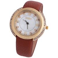 2014 Luxury Series Set auger watches Roman numeral dial leather watches Women's fashion dress quartz watch JW1736