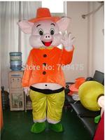 EMS free shipping EVA Cartoon Pig Mascot Animal Piggy Costumes Walking Performance Novelty Apparel