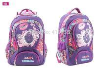 New arrival Children Sweet flower  school bag pupil girls shoulder bags kids girl princess backpack learning education BP0341
