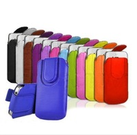 2014 New Pull Up Tab Strap Bag For THL 5000 T100S 4400 T11 W200S W200 T6S T3 W8 T5  PU Leather Pouch bags Cases