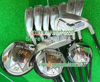 golf Clubs set KATANA SWORD Complete set of Club 3wood+9irons+Putter(No bag)Graphite/shaft EMS Free shipping,