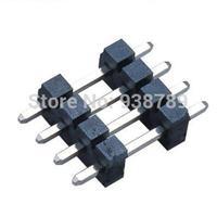 5.08mm H2.50 Pin Header Connector 1x14P Dual layer 180 dip plating Tin L=21.0mm