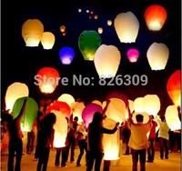 Wedding Balloon Oval shape Sky Lanterns, Wish Lamp Kongmin Lights For Festival /9 Colors Optional