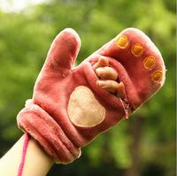Novelty character winter gloves luvas femininas Cute cartoon gloves for women New fashion 2014 G4