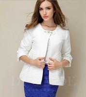 Europe station 2014 Hitz Heavy beaded short sleeve ladies temperament suit jacket blouses NDZ197 Y9W