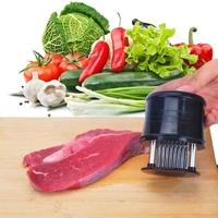 Free shipping 2014 hot steak meat tenderizer needle hamstring hieroglyphics black round tender meat meat 56 needle