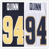 Cheap Stitched Custom Men's American Football Jersey #94 Robert Quinn Elite Jersey,Accept Drop Shipping