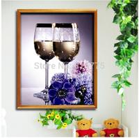 Florid romantic restaurant fruity Rose Wine Diamond Stitch DIY crystal Square FULL diamond painting Living room Needlework