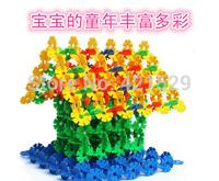 1pack=150pcs Parent-Child Educational Toy, Quality Snowflake Blocks Toys, Educational Intelligence Toys Classic Baby Gift
