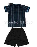 Top quality KOVACIC 10  kids boy Soccer sport Jersey 14/15,Embroidery Logo KOVACIC 10 Soccer Shirt&short