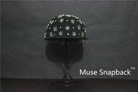 Muse 100% cotton five star revit caps fashion hip-hop style  skateboy snapback  Made in korea good quality