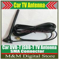 Free shipping!!! Car ISDB-T DVB-T tv antenna Mobile Car Digital DVB-T ISDB-T Aerial Antenna Car Digital TV Antenna