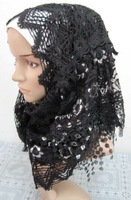 knitting muslim long scarf,muslim hijab long shawls ML106