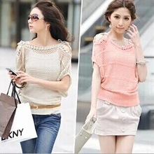 2014 new fashion style Worldwide New Winter Ladies Weaving Pure Color Knitted Pullover Knitting Outwear sweater women knitwear(China (Mainland))