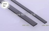 Carbon fiber rods/carbon stick/DIY model accessories, solid square bar style,20mm/40mm length,1 x 5/ 1 x 3 mm size