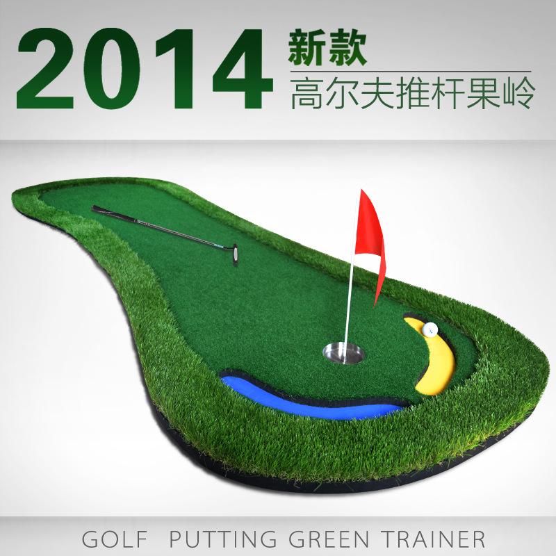 2014 new artificial golf greens Golf putting practice device mini golf , practice blanket Artificial green golf,(China (Mainland))