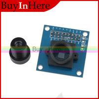 VGA OV7670 Cmos Ov7660 Camera Module 640X480 SCCB Compatible 300kp with I2C Interface