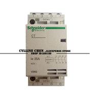 din rail modular contactors, Schneider CT series household contactor 2p 25A