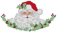 2014 New Christmas Gift Santa Claus(2) Counted Cross Stitch DMC Cross Stitch DIY Cross Stitch Kits for Embroidery Needlework