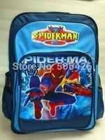 "16"" spider man BEN 10 Kids 3D Cartoon Children Backpacks Bag Back to School Backpack Boy Girl Students Notebook travel Bags"