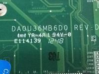 Free Shipping EMS DHL  for HP Pavilion 15 Ultrabook motherboard 712799-501 DA0U36MB6D0 REV : D Scheda madre  I5-3337U 630m / 2g