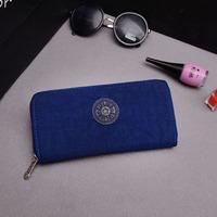 10pcs/lot 2014 new fashion kip nylon zipper wallet 10 colors women purse girl wallet clutch bags Purse kip wallet