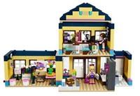 No original box!Bela 10166 Girl friends 489pcs+3 minifigures Heartlake City School 3D DIY building block set toys for girl gift