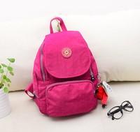 2014 nylon kip backpack bag fashion children's school bag mochila kippling bolsa Women Travel Bag free shipping
