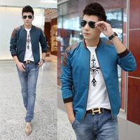 Mens Fashion Brand New Plus Size Casual Jacket Man Patchwork Slim Extra Large Size Jacket Size M-5XL