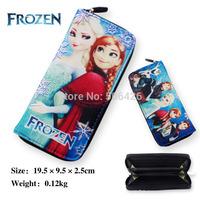 Frozen Coin Purses Wallet Elsa Anna Money Bag Snow Queen Princess  10pcs/lot